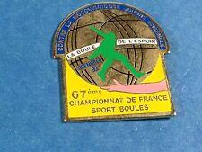 pins pin sport boule petanque club grenoble 93