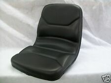 HIGH BACK BLACK SEAT FOR WALKER ZERO TURN MOWERS  ZTR #IZ