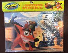 Crash Bandicoot Official Jumbo Puzzle New Sealed 2001 Universal Studios Rare Vtg