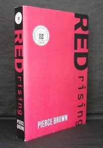 RED RISING Pierce Brown US 1st STATE UNCORRECTED PROOF / ARC 1st ED Rare