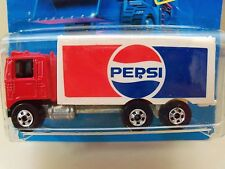 HOT WHEELS - WORKHORSES - NEW MODEL PEPSI HIWAY HAULER DIECAST / UNPUNCHED CARD