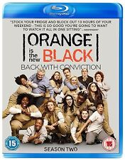 Orange Is The New Black Complete Series 2 Blu Ray All Episodes Second Season UK