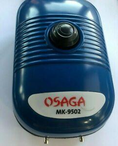Osaga MK 9502 Belüfter, Eisfreihalter Set Teichbelüftung Aquarienbelüfter