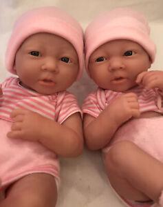 Berenguer twin baby girl newborn dolls 15 inch