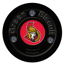 New Green Biscuit handling hockey training puck Ottawa NHL off-ice stick passing