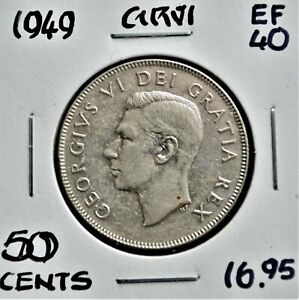 1949 Canada 50 Cents