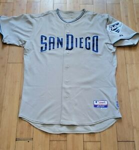 2007 San Diego Padres Game Used Road Jersey