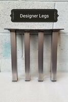 4x Coffee Table / Bench Industrial legs Designer Metal Steel Hairpin
