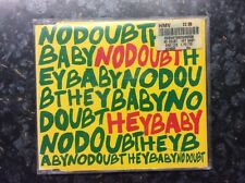 NO DOUBT Hey Baby CD 4 Track Enhanced Disc B/W Fabian Remix, Ex Girlfriend