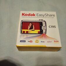 "Kodak EasyShare C195 14.0MP Silver 5X Optical Zoom 3"" Digital Camera Read Desc"