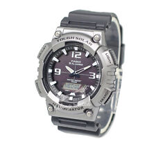 -Casio AQS810W-1A4 Analog Digital Tough Solar Watch Brand New & 100% Authentic