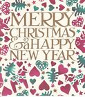 Emma Bridgewater Merry Christmas Card hearts & trees
