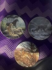 Edwin M. Knowles & Charles Frace Cat Plates