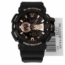 *NEW* CASIO MENS G SHOCK ROSE GOLD WATCH OVERSIZE XL GA-400GB-1A4  RRP£169
