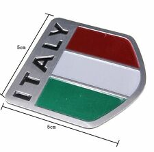 italy embleem badge , italiaanse vlag  embleme 3D logo aluminium italia vespa