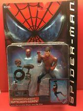 TOYBIZ MARVEL SPIDERMAN MOVIE POWER PUNCH SPIDER-MAN SERIES 3 2002 ACTION FIGURE
