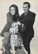 PATRICK MacNEE DIANA RIGG THE AVENGERS  1961 -1969 VINTAGE PHOTO R80 #8