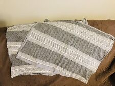 New Standard Pillow Sham The Texture Collection ice light slate puckered