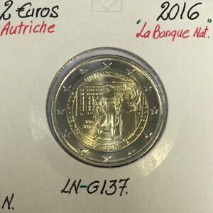 Autriche - 2 Euro 2016 - 200 ans de la Banque Nationale Autrichienne