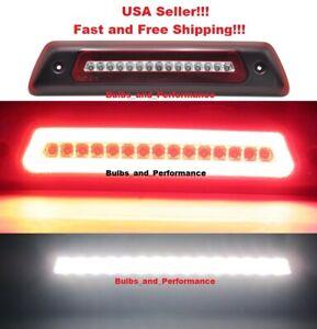 RED LENS LED HIGH MOUNT 3rd BRAKE REVERSE LIGHT LAMP For 2009 - 2014 Ford F150