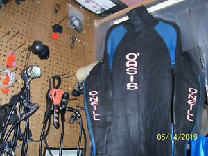 ONEILL OASIS RUBBER DRYSUIT SIZE MEN LARGE TALL