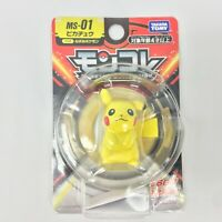 Takara Tomy Pokemon Monster Collection MS-01 Pikachu Figure Moncolle F/S New