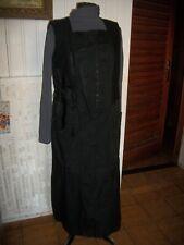 Robe longue sans manche noir sous pull assorti LAUREN VIDAL XXXL 46/48