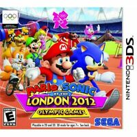 Mario And Sonic At The London 2012 Olympic Games Nintendo For 3DS 3E