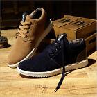 Hombre Zapatos Deportivo Inglaterra Nubuck Sneakers High-top Mocasines Zapatilla