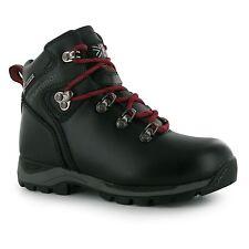 Karrimor Skido Walking Water Resistant Hiking BOOTS Lace up Childrens Kids Black UK 2