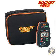 Socket & See PDIT360 Pièce P 17ème édition Isolation & continuité Testeur
