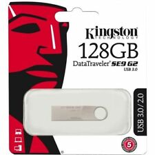 Kingston Digital 128GB Data Traveler SE9 G2 USB 3.0 DTSE9G2/128GB