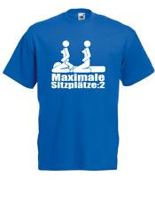 Camiseta Hombre Maximal 2 Asientos hasta 5XL (Diversión / Fun )