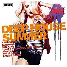 VARIOUS ARTISTS - DEEP HOUSE SUMMER 2014 NEW CD