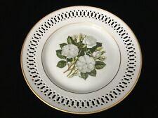 "Bing & Grondahl Danbury Mint 1979 The 12 Rose Plate, Mademoiselle Hardy, 8 1/2"""