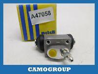 Cylinder Rear Brake Rear Wheel Brake Cylinder METELLI 049659