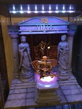 Diorama Decoration Scene Myth Cloth Saint Seiya Casa Di Virgo Shaka + Statue