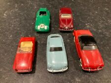 Dinky Toys Joblot Collection Of 5 Cars Repainted Including Porsche Coupe