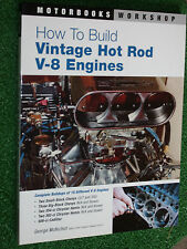 How to Build Vintage Hot Rod V-8 V8 Engines Manual Chevy 327 350 Cadi 500ci ++