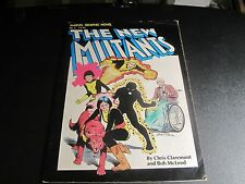 1ST APPEARANCE OF THE NEW MUTANTS: MARVEL GRAPHIC NOVEL #4 NEW MOVIE COMING !