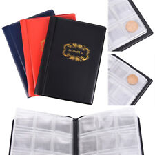 Russian Coin Album 10 Pages 120 Pockets Coin Collection Book Coin Holder VKCA