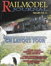 Railmodel Journal Mar.2003 Canadian National Railway Union Pacific Illini Feed