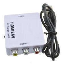 Mini Komposit 1080P HDMI zu RCA Audio Video AV CVBS Adapter Konverter Für HDTV*