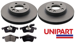 For Volkswagen VW - Transporter T4 1.9 2.5 1996-2004 Front Brake Discs and Pads