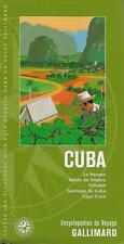 ENCYCLOPEDIES DU VOYAGE / CUBA - TOURISME - VOYAGE - GUIDE - PLANS - CARTE