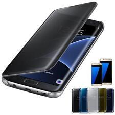 For Samsung Galaxy S7 S7 Edge Flexible Coque De Luxe Miroir Ultra Fin Étui Coque