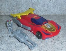 Transformers Titans Return HOT ROD Complete Deluxe Rodimus w repro labels