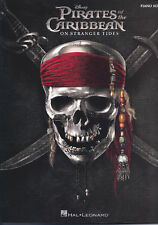 "PIRATES OF THE CARIBBEAN -""ON STRANGER TIDES""-PIANO SOLO MUSIC BOOK JOHNNY DEPP"