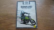 New listing Vtg. 1972 Clymer Kawasaki Motorcycle Service Manual 1966-1971 250 350 cc Twins