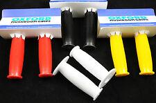 MUSHROOM TYPE BMX HANDLEBAR GRIPS CHOICE OF RED,YELLOW BLACK OR WHITE NEW